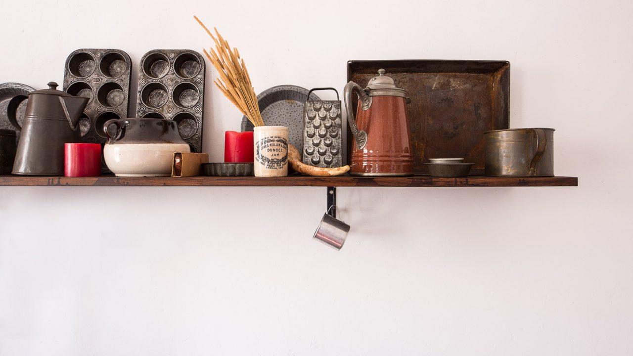 キッチンの吊戸棚