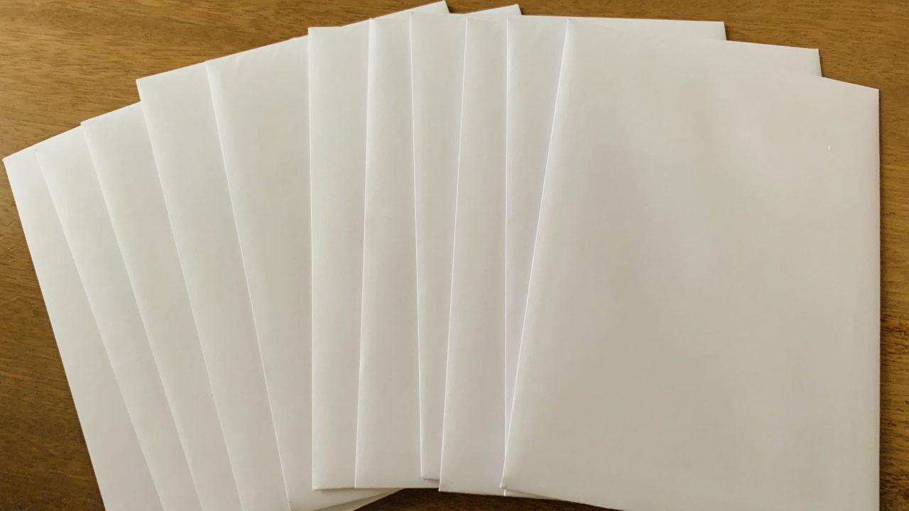 グラブルバレンタインキャンペーンお礼の品の封筒